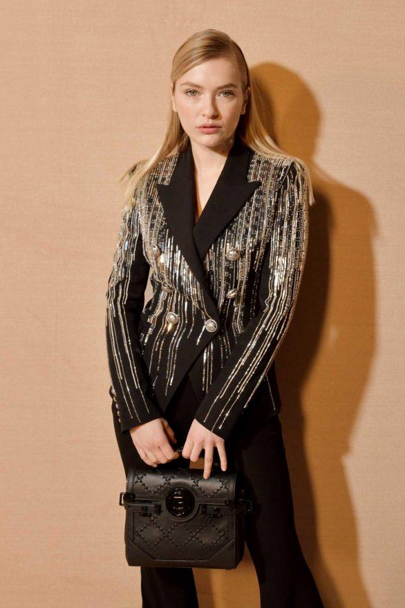 Camille Razat - Balmain Fashion Show at Paris Fashion Week 2020