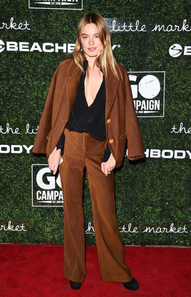 Camille Rowe - 2017 GO Campaign Gala in Los Angeles