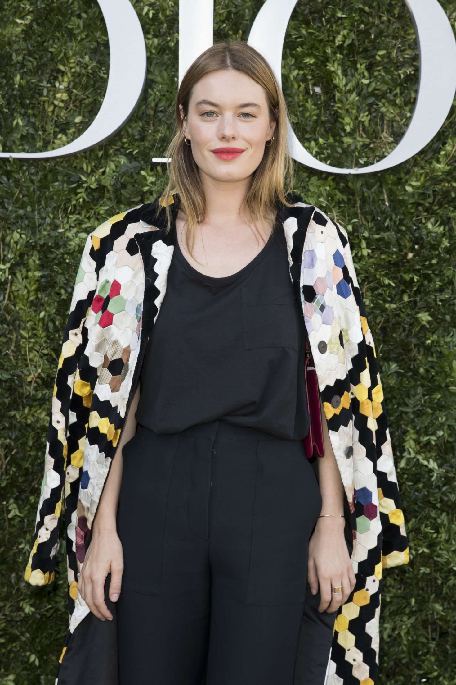 Camille Rowe - Christian Dior Photocall FW 2017 in Paris