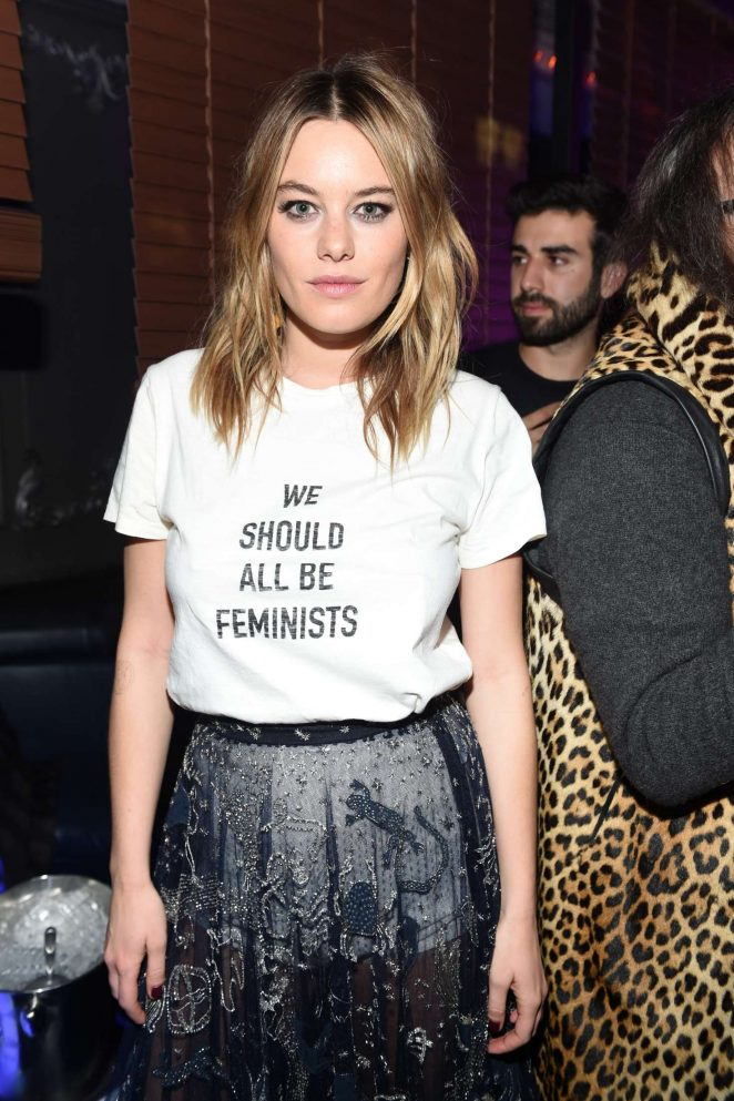 Camille Rowe - Dior Celebrates 'Poison Girl' in New York