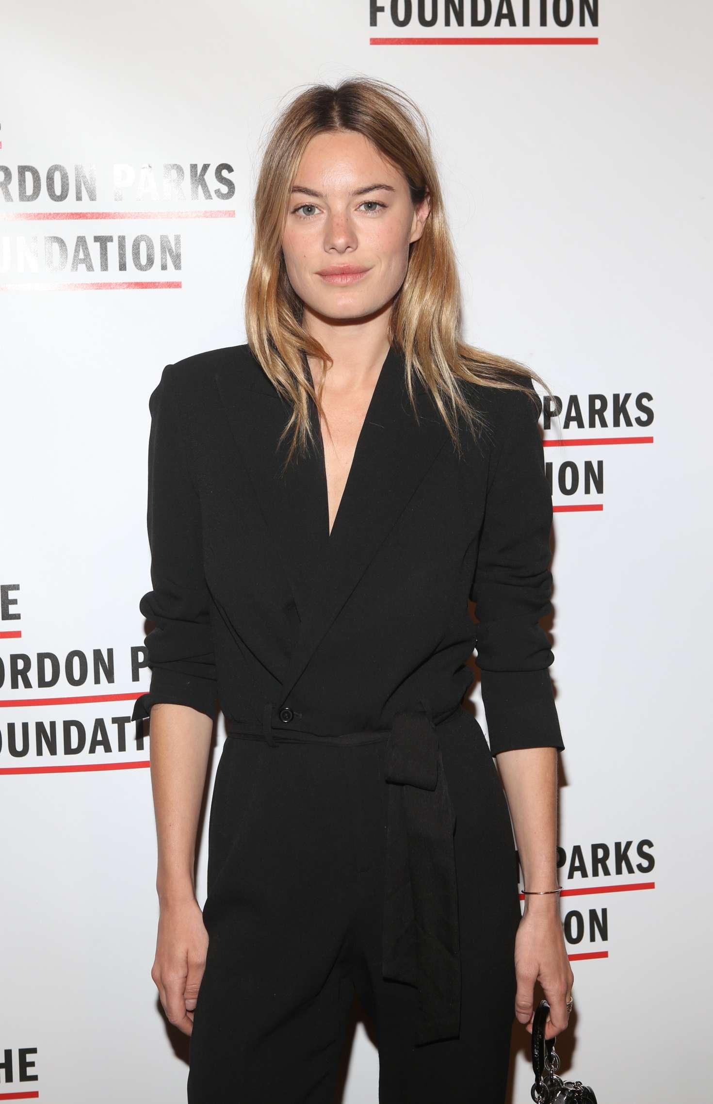 Camille Rowe - Gordon Parks Foundation Awards Dinner in New York