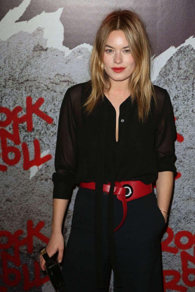 Camille Rowe - 'Rock'n Roll' Premiere in Paris