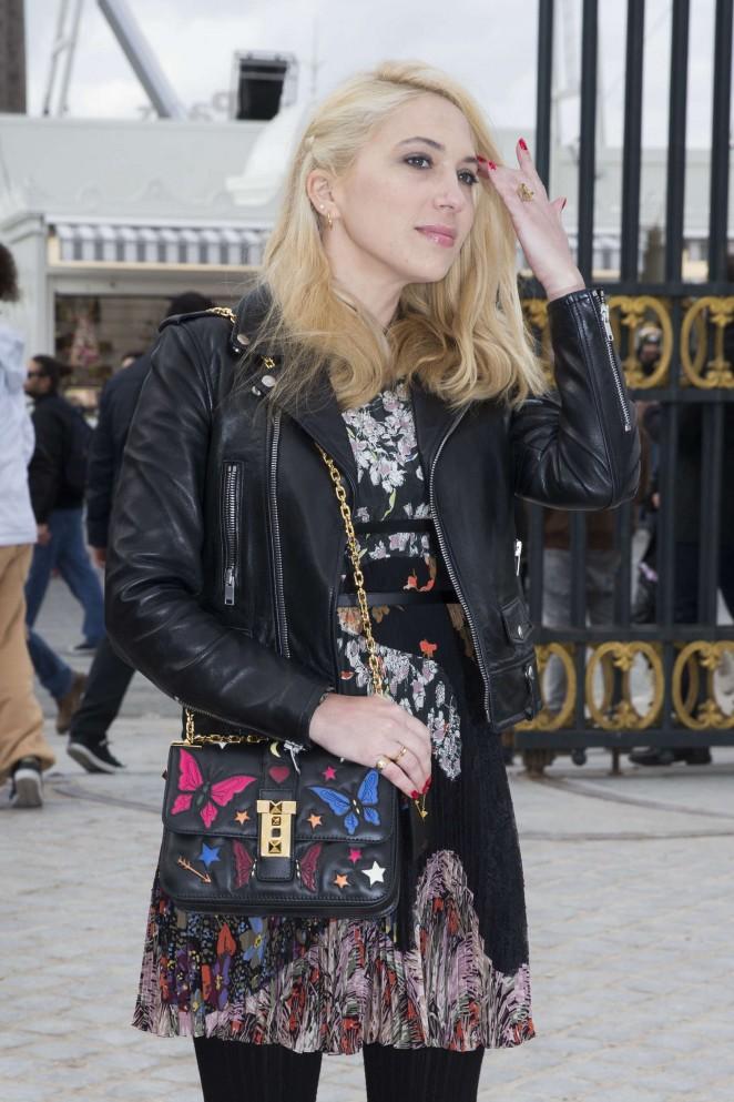 Camille Seydoux - Valentino Fashion Show 2016 in Paris