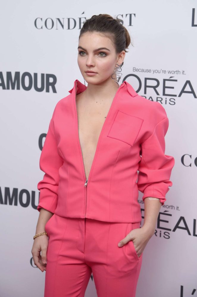 Camren Bicondova - 2017 Glamour Women of The Year Awards in NY