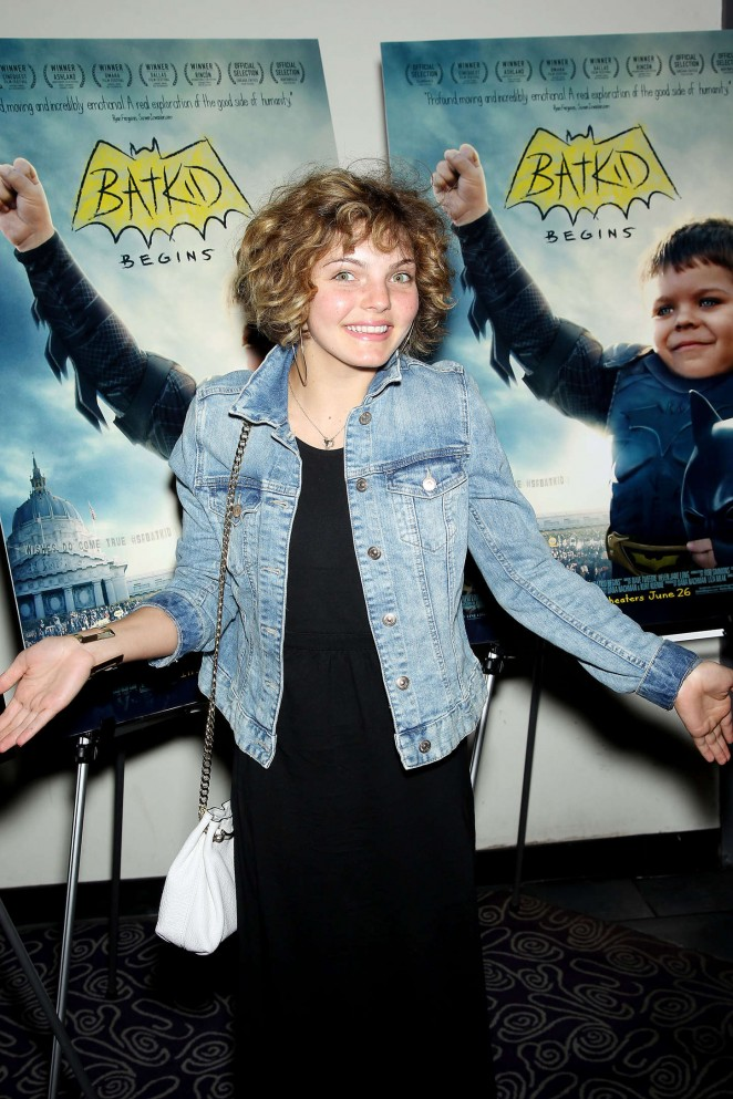 Camren Bicondova - 'Batkid Begins' Special Screening in NY