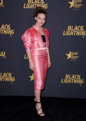 Camren Bicondova - 'Black Lightning' Premiere in Washington