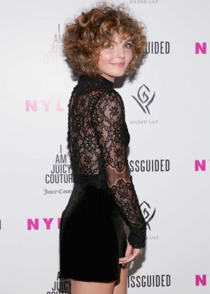 Camren Bicondova - NYLON It Girl Prom in New York City