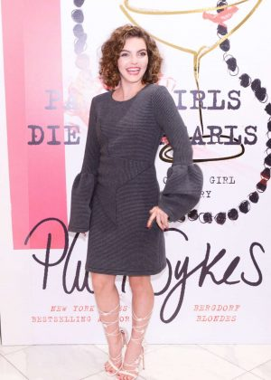 Camren Bicondova - Party Girls Die In Pearls Book Launch Party in NY