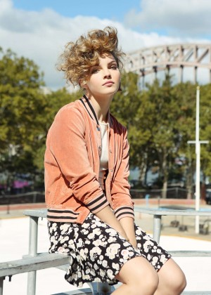 Camren Bicondova - The Laterals Photoshoot (November 2015)
