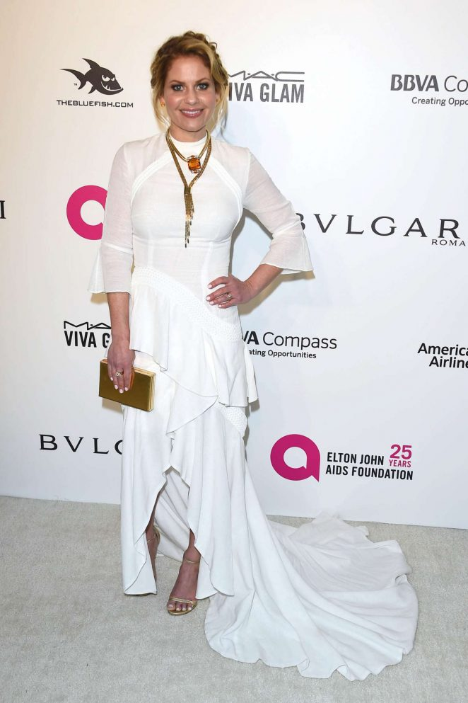 Candace Cameron Bure - 2018 Elton John AIDS Foundation's Oscar Viewing Party in West Hollywood