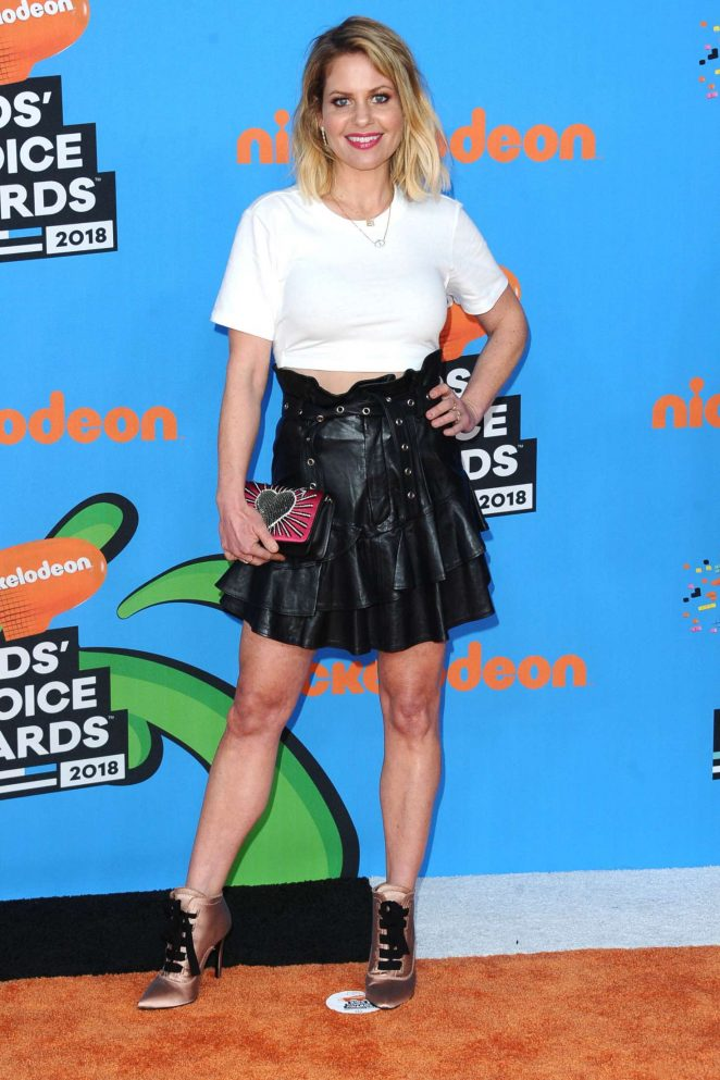 Candace Cameron Bure - 2018 Nickelodeon Kids' Choice Awards in Los Angeles