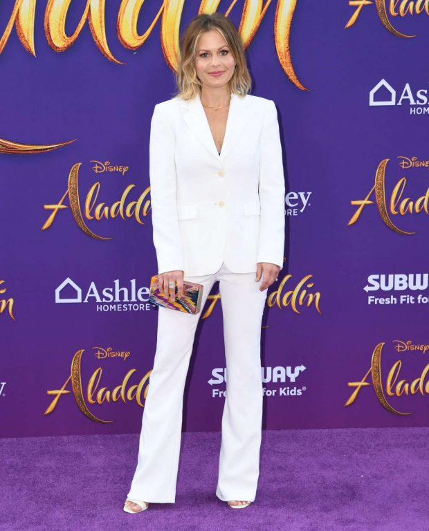 Candace Cameron Bure - 'Aladdin' Premiere in Los Angeles