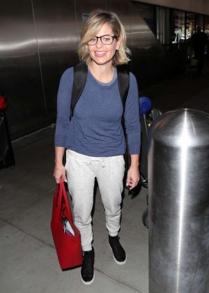 Candace Cameron Bure at LAX Airport in Los Angeles