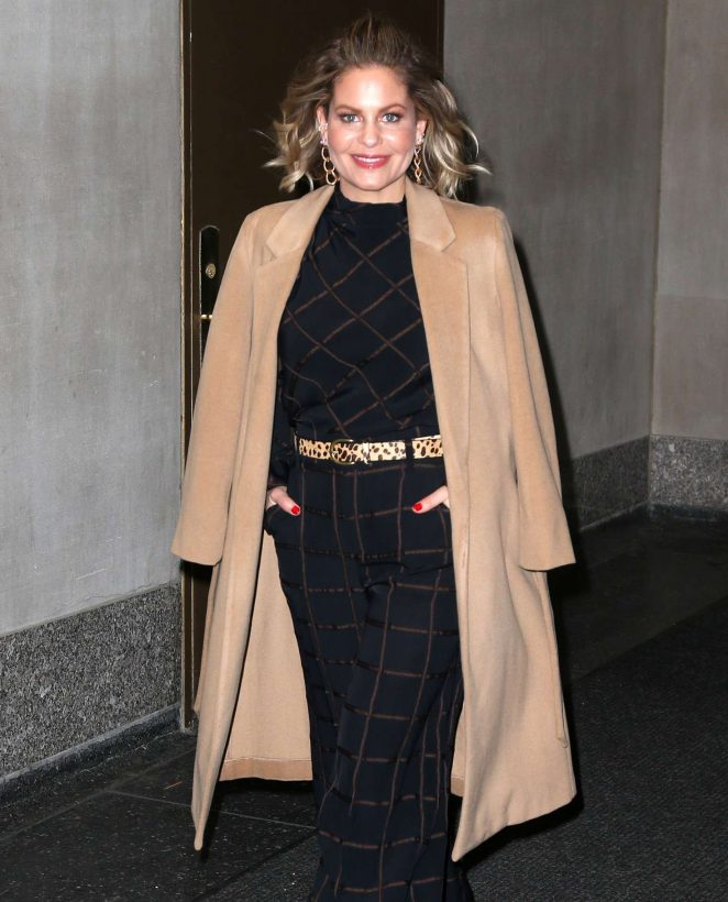 Candace Cameron-Bure at 'The Today Show' in New York
