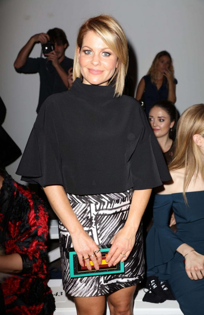 Candace Cameron Bure - Milly Fashion Show at 2016 New York Fashion Week in NY