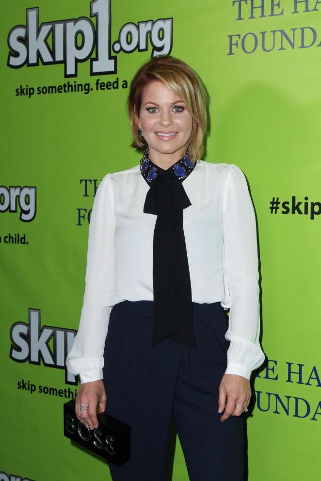 Candace Cameron Bure - Skip1 Night Event in Hollywood