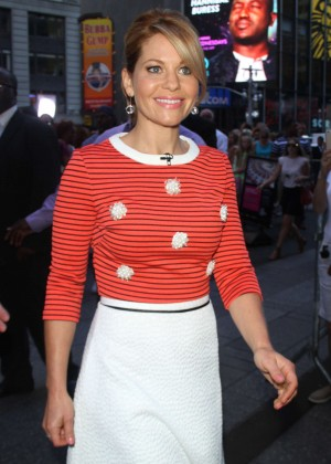 Candace Cameron - 'Good Morning America' Studios in New York City