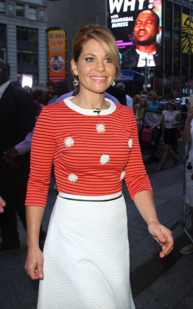 Candace Cameron – 'Good Morning America' Studios in New York City
