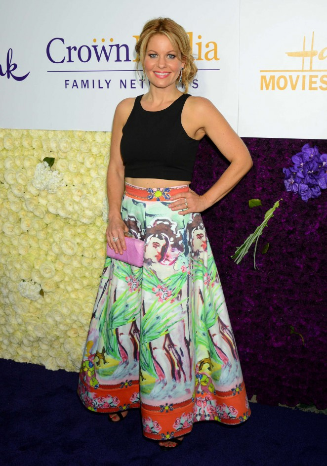 Candace Cameron - Hallmark Channel and Hallmark Movies and Mysteries 2015 Summer TCA Tour in Beverly Hills