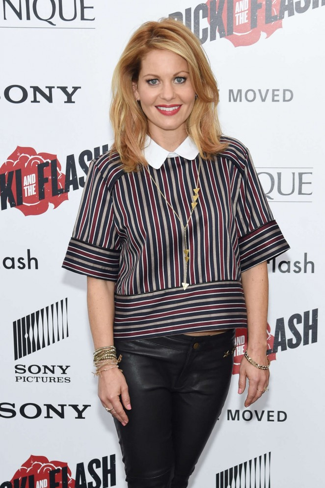 Candace Cameron - 'Ricki And The Flash' Premiere in NYC