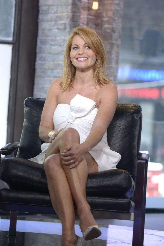 Candace Cameron - VH1 'Big Morning Buzz' in NY
