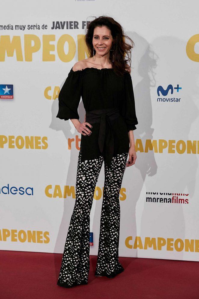 Candela Font - 'Campeones' Premiere in Madrid