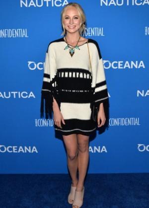 Candice Accola - 2015 Nautica Oceana Beach House Party in Santa Monica