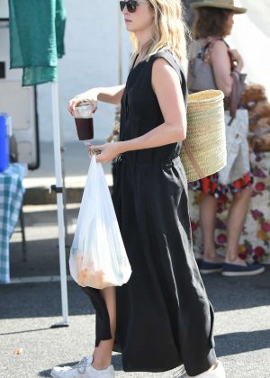 Candice Accola at Farmers Market in Los Angeles