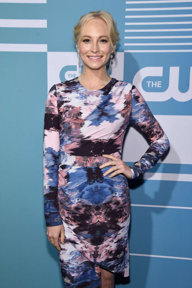 Candice Accola - CW Network's 2015 Upfront in NYC