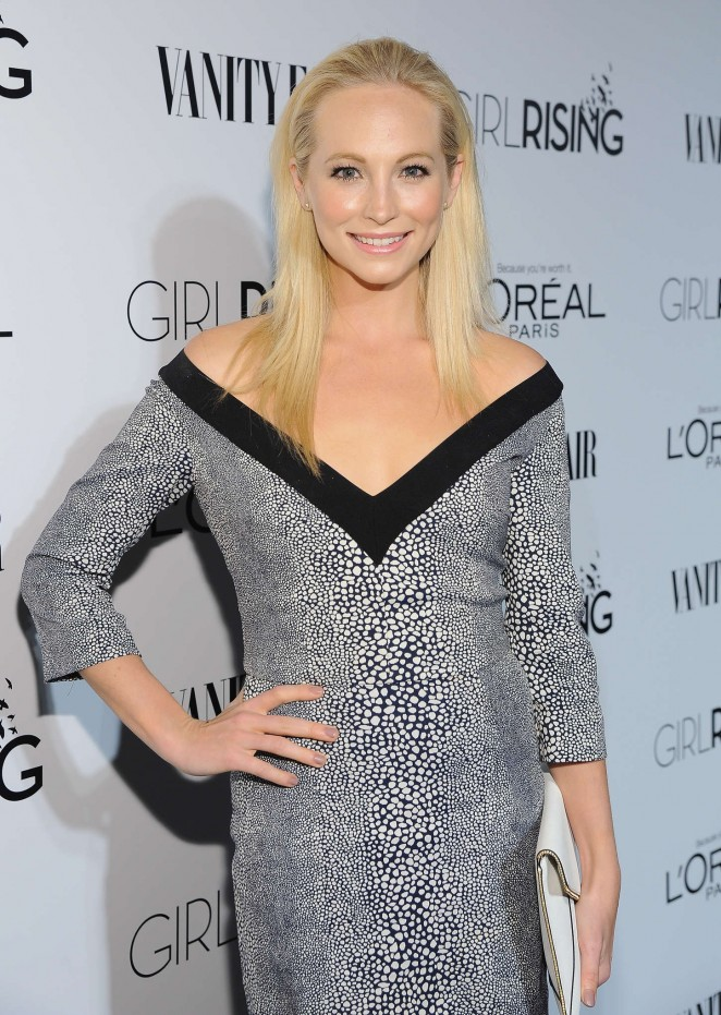 Candice Accola - VANITY FAIR and L'Oreal Paris D.J. Night Benefit 2015 in LA