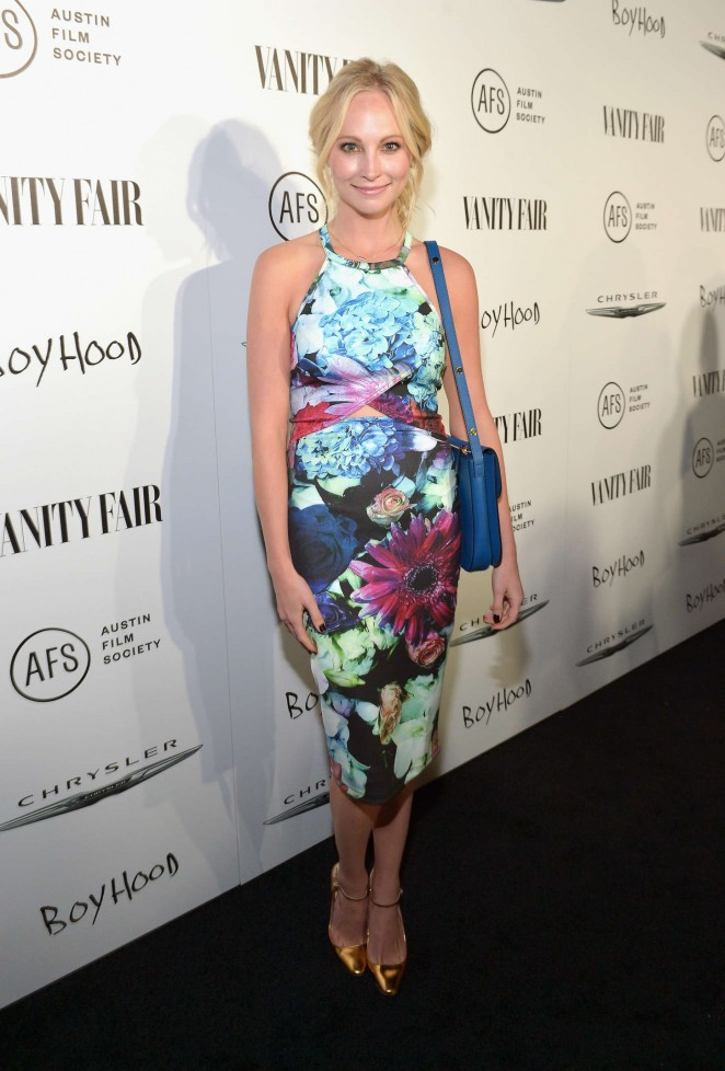 Candice Accola - VANITY FAIR & Chrysler Celebration of Richard Linklater and Boyhood in LA