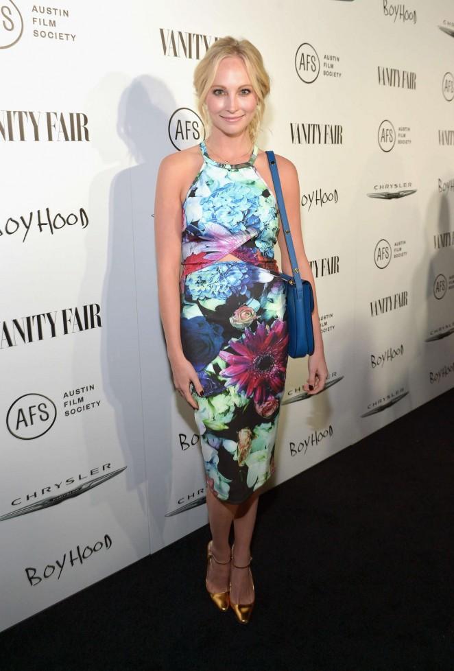 Candice Accola - VANITY FAIR & Chrysler Celebration of Richard Linklater and Boyhood in LA