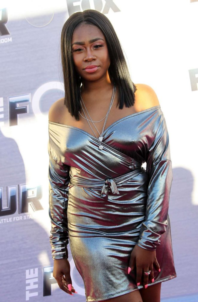 Candice Boyd - 'The FOUR: Battle For Stardom' Viewing Party in West Hollywood