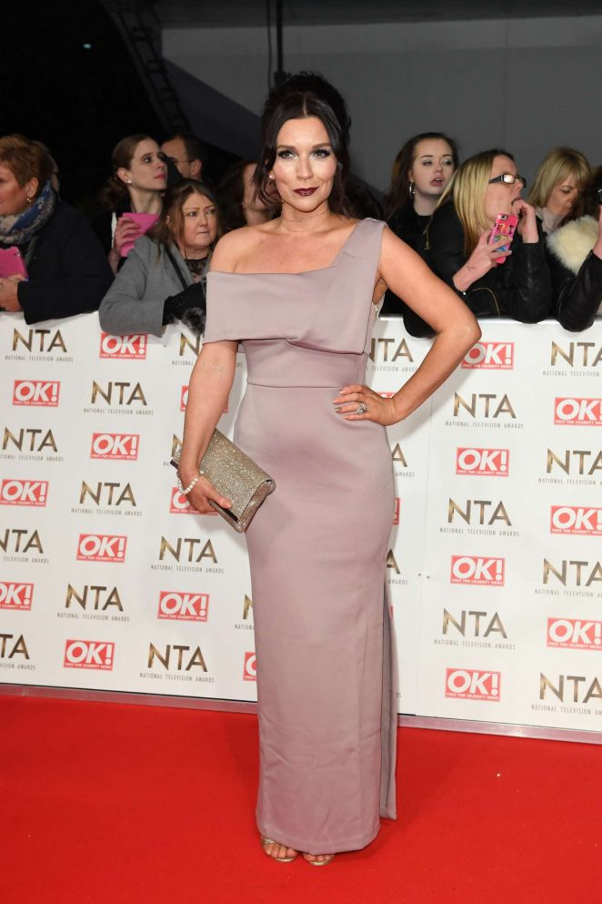 Candice Brown - 2017 National Television Awards in London