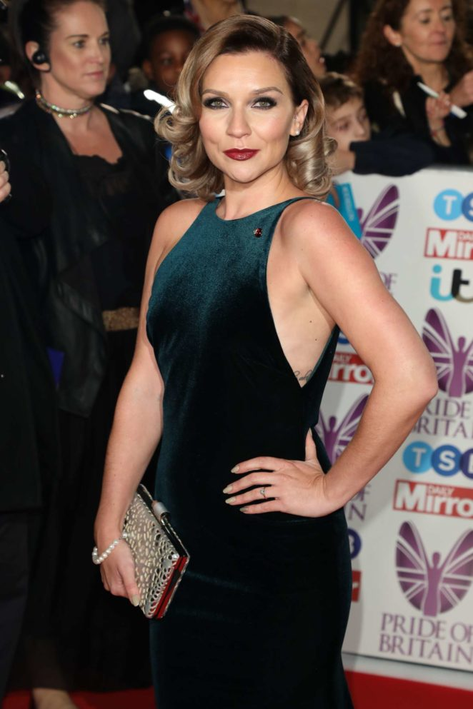 Candice Brown - 2017 Pride Of Britain Awards in London