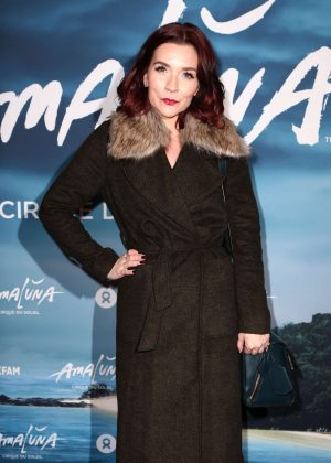 Candice Brown - Cirque du Soleil 'Amaluna' Press Night in London
