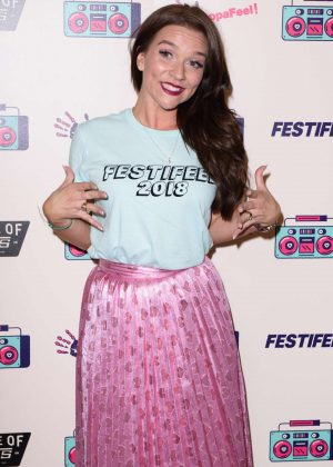 Candice Brown - Coppafeel Charity's Festifeel in London