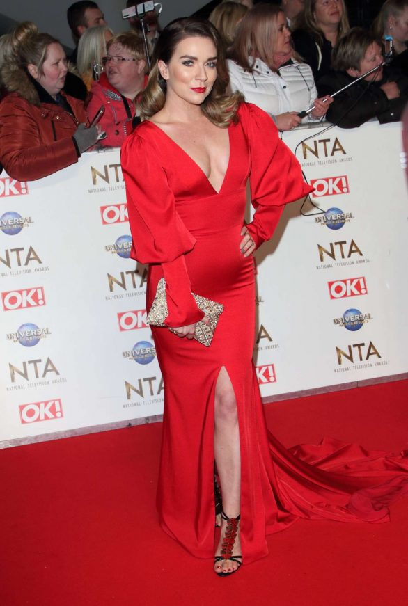 Candice Brown - National Television Awards 2020 in London