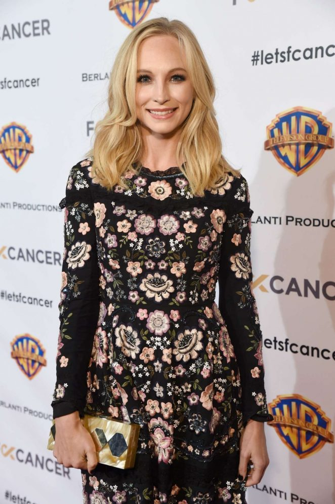 Candice King - Barbara Berlanti Heroes Gala Benefitting Fck Cancer in Burbank
