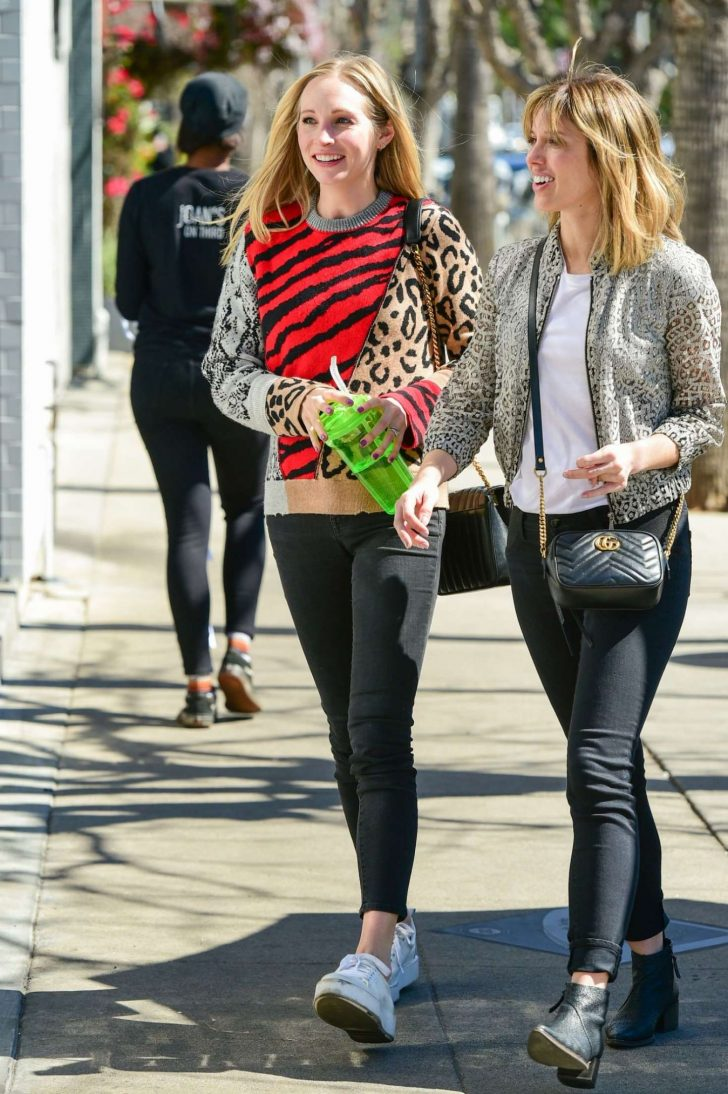 Candice King: Out and about in LA -02