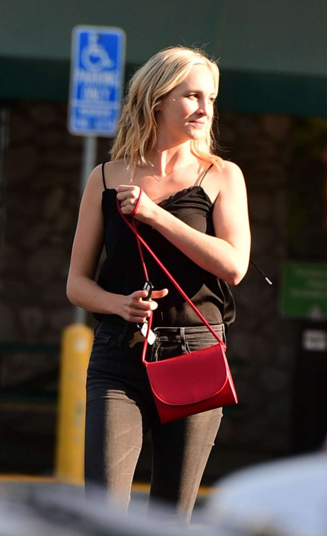 Candice King - Out in in LA