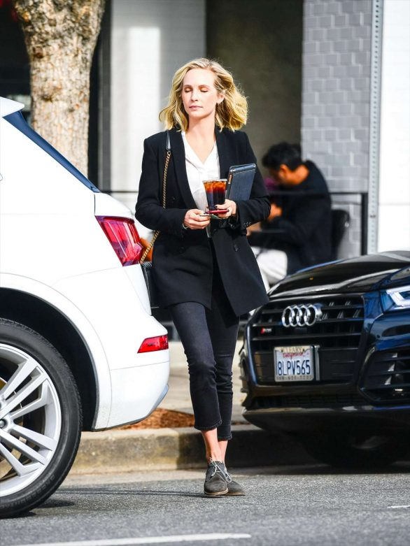 Candice King - Running errands in Los Angeles