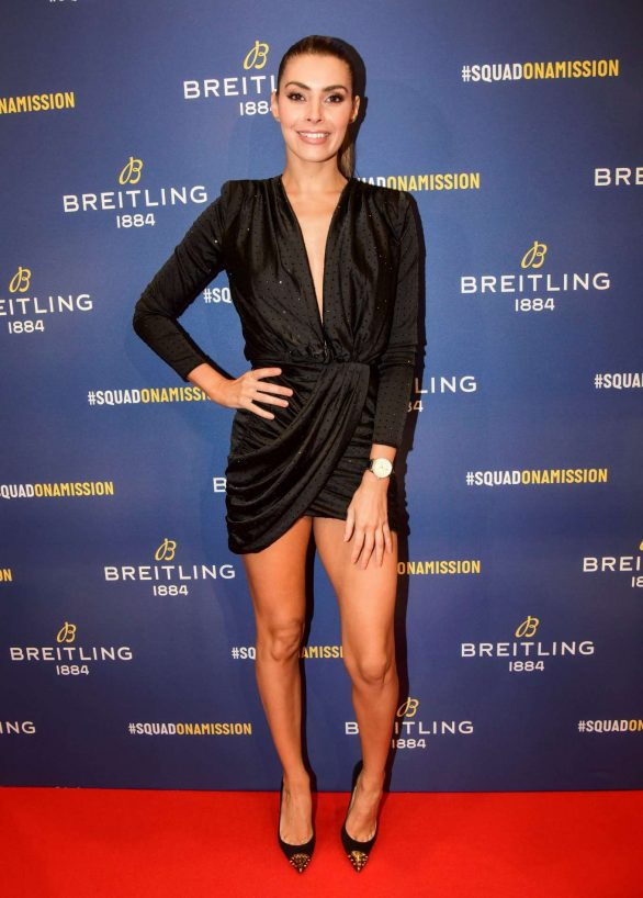 Candice Pascal - Breitling Boutique Opening in Paris