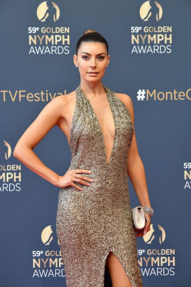 Candice Pascal - Closing Ceremony of the 59th Monte Carlo TV Festival