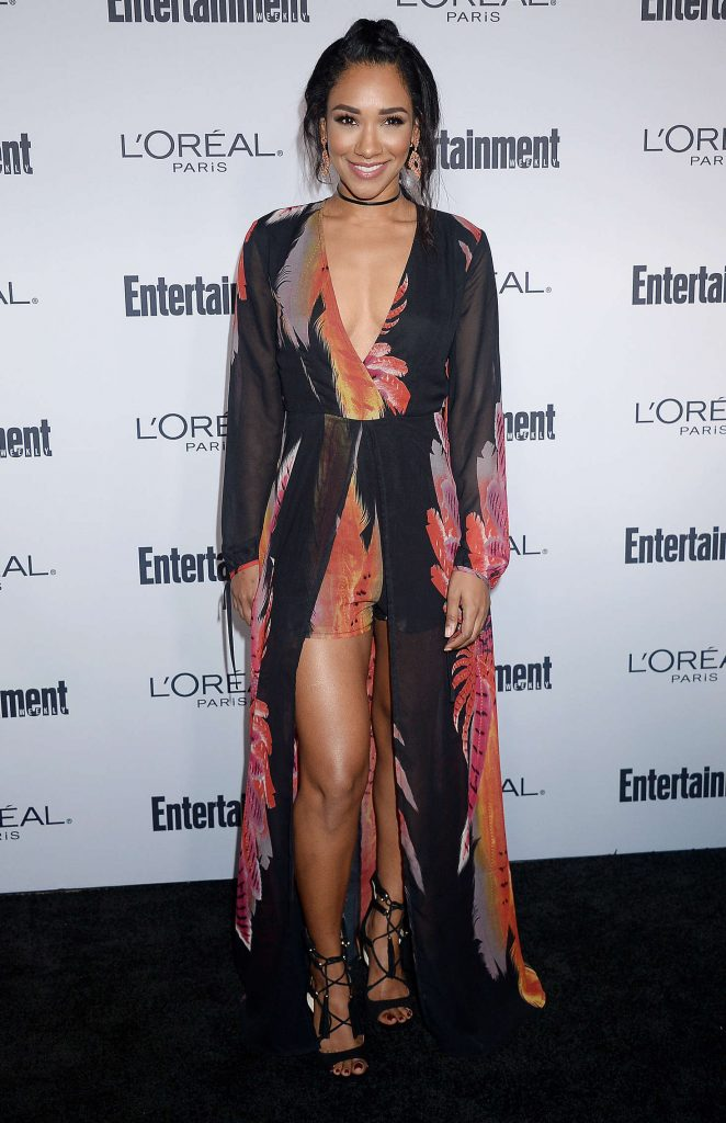 Candice Patton 2016 Entertainment Weekly Pre Emmy Party