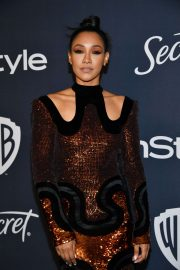 Candice Patton - 2020 InStyle and Warner Bros Golden Globes Party in Beverly Hills