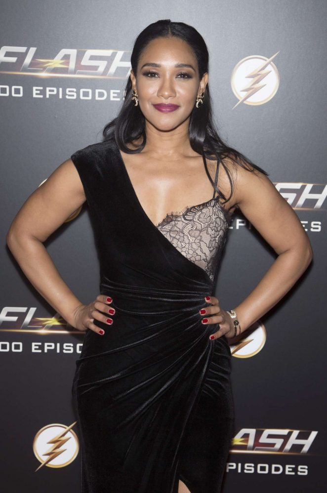 Candice Patton - Celebration Of 100th Episode of CWs 'The Flash' in LA