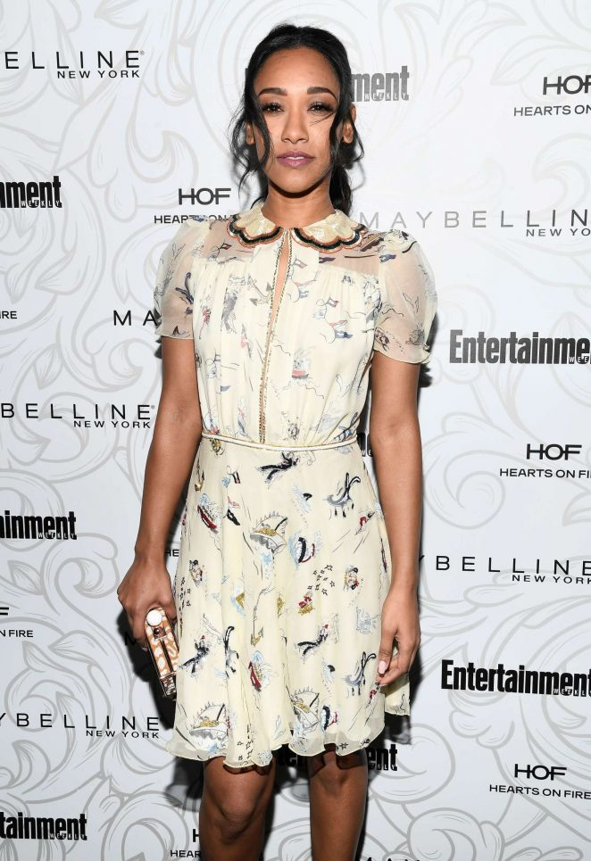 Candice Patton - Entertainment Weekly Celebration of SAG Award Nominees in Los Angeles