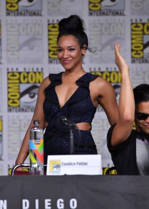 Candice Patton - 'The Flash' Panel at 2018 Comic-Con in San Diego