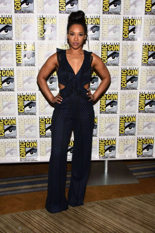 Candice Patton - 'The Flash' Photocall at 2018 Comic-Con in San Diego